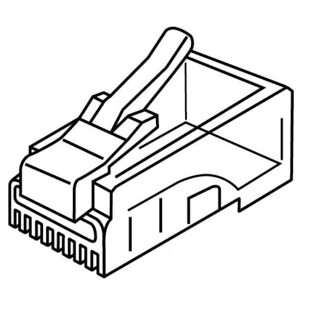 Platinum Tools RJ-45 (8P8C), Round Cable, Stranded Wire